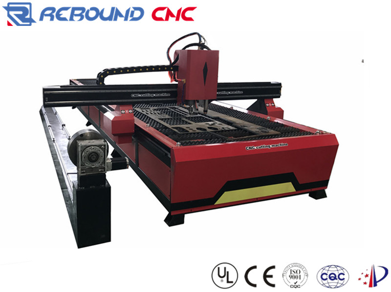 Steel/iron plate and pipe CNC plasma cutting and drilling machines with US hypertherm power