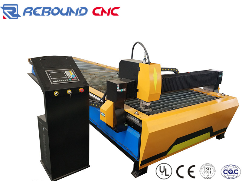 1560 carbon steel CNC plasma cutting machines Especially for thin plate fast cutting
