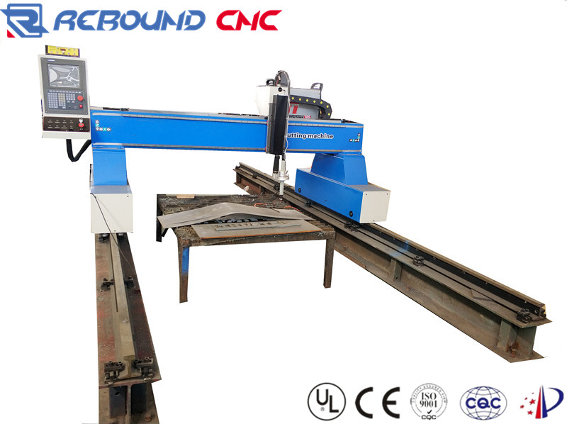 Gantry type CNC plasma cutting machines for iron sheet and carbon steel
